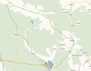 Карта маршруту