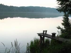 Одне з озер Верещиці