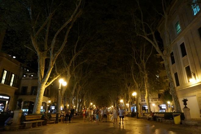 Пасаж Борна вночі