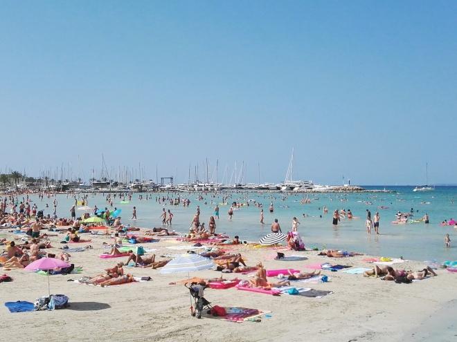Турція на Майорці - пляж С'Ареналю