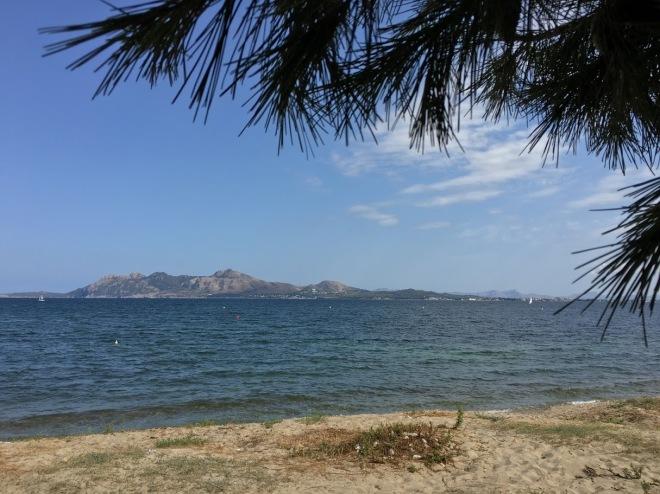 Пляж Порт Де Поленса, дикіша частина